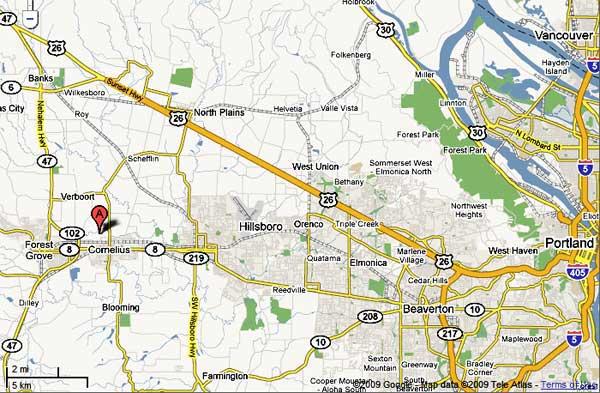 Relocate To Cornelius Oregon Relocation Information