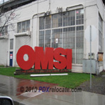 OMSI Sign