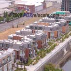 Downtown Portland Riverfront Condo View