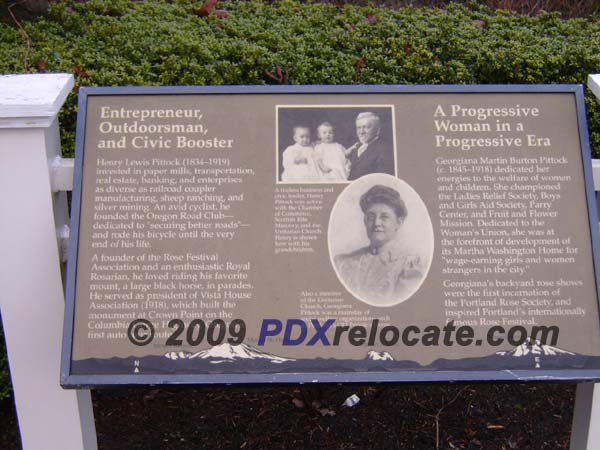Pittock Mansion History