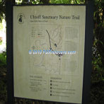 Uhtoff Nature Trail Sign