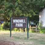 Windmill Park Sign